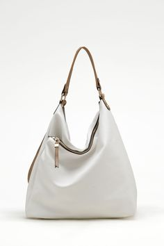 Taylor Hobo in Soft Ivory