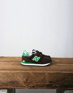 New Balance Kids KV574BYG - Brown / Green - Aren't these the cutest cool pair of kicks?