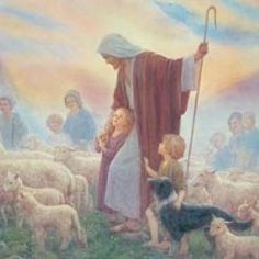 I Will Care for my Little Lambs and for All of My Precious Sheep. I Love them So Very Much.