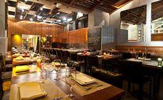Zuka — modern interior and contemporary cuisine by chef Ludmilla Soeiro. Pricy, but delicious.