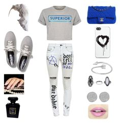 """Movie Night..."" by sinelly-castillo on Polyvore featuring beauty, Filles à papa, Être Cécile, Keds, Zero Gravity, Chanel, Topshop, Karen Kane and Fiebiger"