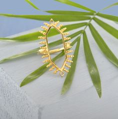 Image of Temple Ring in Gold