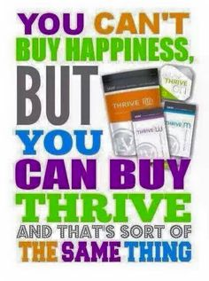 Love love love Thrive!!! Don't wait to feel great!! Trial packs available... You will love it:)) brittanyoakley.le-vel.com
