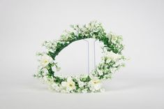 White Gardenia flower crown for Weddings, Bridal, Bridesmaid or Flower Girl Special Day, Special Occasion, White Gardenia, Gypsophila, Flower Crowns, White Bridal, Floral Crown, Hair Pieces, Flower Decorations
