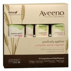 Aveeno Active Naturals Positively Ageless Complete Anti-Aging System on shopstyle.com