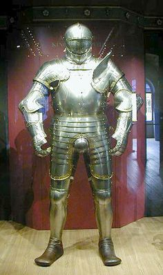 Henry VIII's armor...  Compensating for something, Hal?