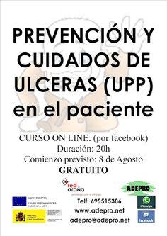 FORMACIÓN OCUPACIONAL y EDUCATIVA: CUIDADOS DE ULCERAS (UPP)
