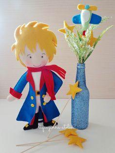 O pequeno príncipe em feltro - Riquezinha Ateliê - https://www.facebook.com/Riquezinhaatelie/