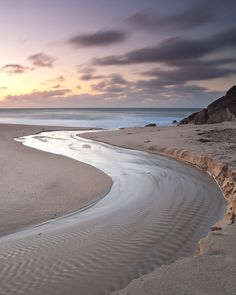 "River to the sea, Porthcurno, Cornwall, England  We ourselves feel that what we are doing is just a drop in the ocean. But the ocean would be less because of that missing drop.""  ~ Mother Teresa http://www.designyourownperfume.co.uk"