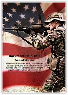 War word document template is one of the best word document american soldier word document template is one of the best word document templates by editabletemplates editabletemplates powerpoint templates toneelgroepblik Images