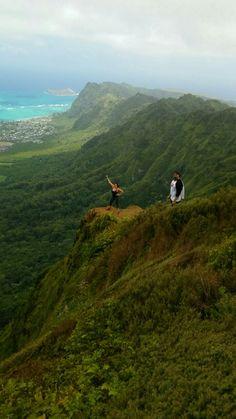 Windy kuliouou hike  Long but worth it  Honolulu,Hawaii