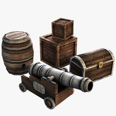 pirate cannons - Google Search