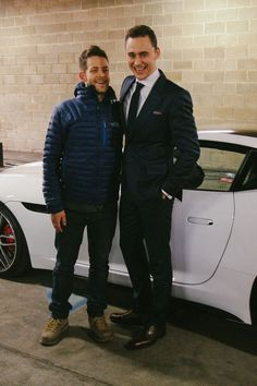 Behind the scenes stills from Jaguar F-Type Coupe shoot starring Tom Hiddleston by Mark Jenkinson [HQ]