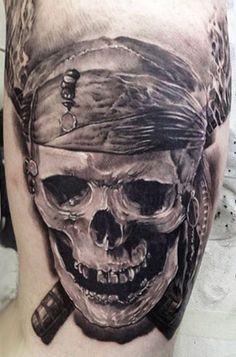 Skeleton Pirate Tattoos