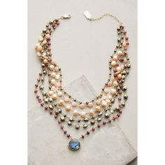 Ela Rae Layered Moonstone Choker (1.610 BRL) ❤ liked on Polyvore featuring jewelry, necklaces, red, red choker necklace, double layer necklace, multi layer necklace, boho jewelry and bohemian necklaces