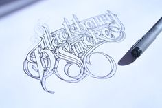 An art for sure. I dont know anyone that can hand letter like this. - Hand Lettering II by Martin Schmetzer, via Behance