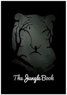 The Jungle Book (Clássicos da Disney em cartazes minimalistas - Designerd)