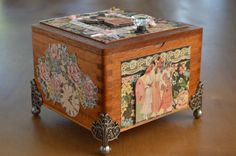 Decorated Cigar Boxes   Decorated Cigar Boxes
