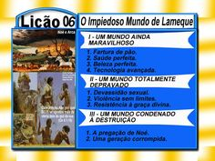 O Impiedoso Mundo de Lameque - Ev. Luiz Henrique - EBDWeb