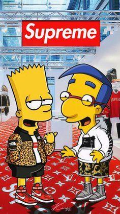 Download Simpson supreme Wallpaper by Amatoru88 5c