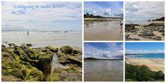 Byron Bay beach at low tide, a fabulous beach walk