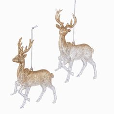 Rose Gold Glittered Reindeer w/ Wreath hanging ornament .Choice of Hobby Lobby Christmas Ornaments, Rose Gold Christmas Decorations, Reindeer Ornaments, Christmas Ornament Sets, Personalized Christmas Ornaments, Hanging Ornaments, Christmas Angels, Reindeer Christmas, Anthropologie Christmas