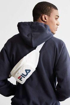 Slide View: 2: FILA Logo Sling Bag