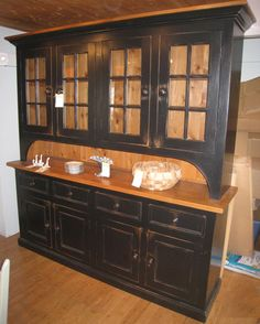 PRIMITIVE STYLE HOOSIER CABINET HUTCH | Cupboards and Hutches ...