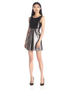 BCBGeneration Women's Dress with A Line Skirt - http://darrenblogs.com/2016/01/bcbgeneration-womens-dress-with-a-line-skirt/