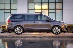The new eight-seat Kia Grand Carnival (named Sedona in the US) has been unveiled ahead of its New York motor show debut.