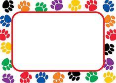 printable paw patrol border - Google Search