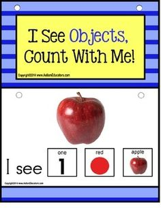 Autism - Build A Sentence with Pictures Interactive - OBJECTS | by Autism Educators