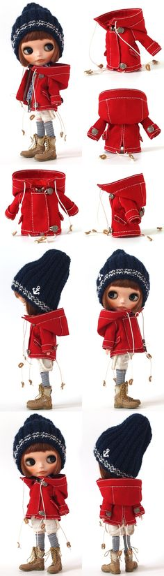 ** Blythe outfit ** Lucalily 326**の画像:mahounote.