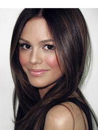 Rachel Bilson - dark, rich brunette, some highlights