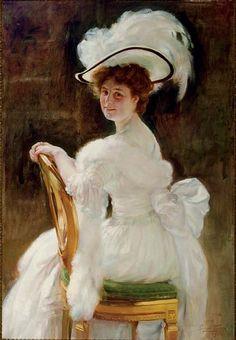 Portrait of a distinguished lady, Herman Jean Joseph Richir