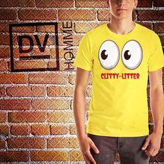 #DVHOMME #ClittyLitter #Tshirt #Menswear #Fashion - Now available at davidventer.net/homme $29.50 Shipping Worldwide. #👀 Tank Top Shirt, Tank Tops, T Shirt, Embroidered Caps, Fashion Labels, Menswear, Mens Fashion, Shopping, Women