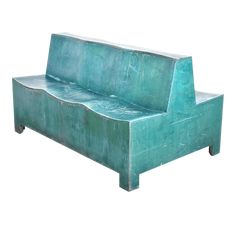 Discover Unique six-seater Cyan Sofa from the by on CROWDYHOUSE - ✓Unique Design Products Day Returns ✓Buyer Protection ✓Selected by Experts Scandinavian Furniture, Contemporary Furniture, Outdoor Furniture, Outdoor Decor, 1990s, Furniture Design, Bench, Sofa, Cat