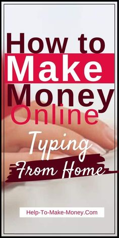 Need help to make money from home? Let me show you how you can earn money typing online for Gotranscript. Great for beginners! Online Jobs For Moms, Start A Business From Home, Best Online Jobs, Ways To Earn Money, Earn Money From Home, Way To Make Money, Money Fast, How To Make, Typing Jobs From Home