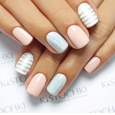 25 of the most beautiful nail designs to inspire you - new women& hairstyles - Nageldesign - Nail Art - Nagellack - Nail Polish - Nailart - Nails - Beautiful Nail Designs, Cute Nail Designs, Bright Nail Designs, How To Do Nails, Fun Nails, Glitter Nails, Pink Glitter, Cute Shellac Nails, Summer Shellac Nails