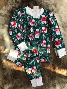Pre order unisex  boys  girl   Christmas pajamas  2t to 6t  holiday season  kids  pajamas  toddler Christmas pajamas  family 51f0a44f3