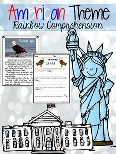 Comprehension Skills for Young Students American Theme