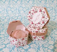 how to: miniature hat boxes