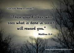 The Jesus Said Project – Jesus Said Give to the Poor & Needy (Matthew Matthew 6 1, Common Sense Quotes, Jesus Teachings, Our Father In Heaven, Help The Poor, New Heart, Thank You Lord, Pro Life, Jesus Quotes