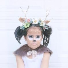 Fawn costume. This w