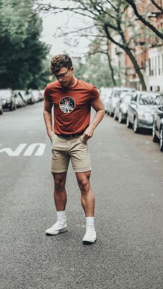99 Smart Men Outfits Ideas That Look Handsome - : Smart Men Outfits Ideas That Look Handsome 17 Trendy Summer Outfits, Short Outfits, Spring Outfits, Casual Outfits, Men Looks, Justin Livingston, Smart Men, La Mode Masculine, How To Look Handsome