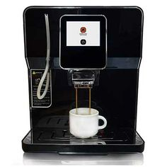 Buona Mattina Super Automatic Cafe Quality Espresso, Latte, Americano and Cappuccino Machine with Whole Bean Grinder and Milk Frother, Black Coffee And Espresso Maker, Cappuccino Maker, Best Coffee Maker, Cappuccino Machine, Espresso Latte, Coffee Shop, Espresso Machine Reviews, Best Espresso Machine, Soy Latte