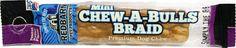 Redbarn Pet Products Inc - Chew-a-bull Mini Braid