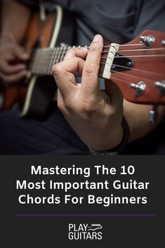 This breakdown is the easiest way to understand basic guitar chords. These are guitar chords for beginners, however, even more experienced players can gain some insight depending on the way they were taught. Easy Guitar Songs, Guitar Chords For Songs, Music Guitar, Playing Guitar, Learning Guitar, Guitar Notes, Ukulele, Music Chords, Music Sing