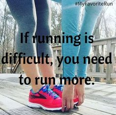 Fitness Motivation : Description If running is difficult, you need to run more. Sport Motivation, Fitness Motivation Pictures, Fitness Quotes, Health Motivation, Sport Fitness, Fitness Goals, Health Fitness, Workout Fitness, Weight Lifting