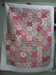 Liberty fabric pink love - samantha*jane